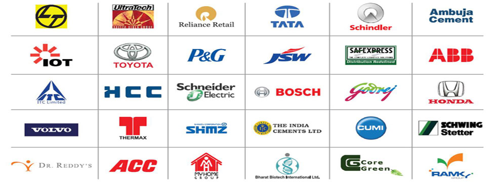 Some of the well known customers and end users of our buildings